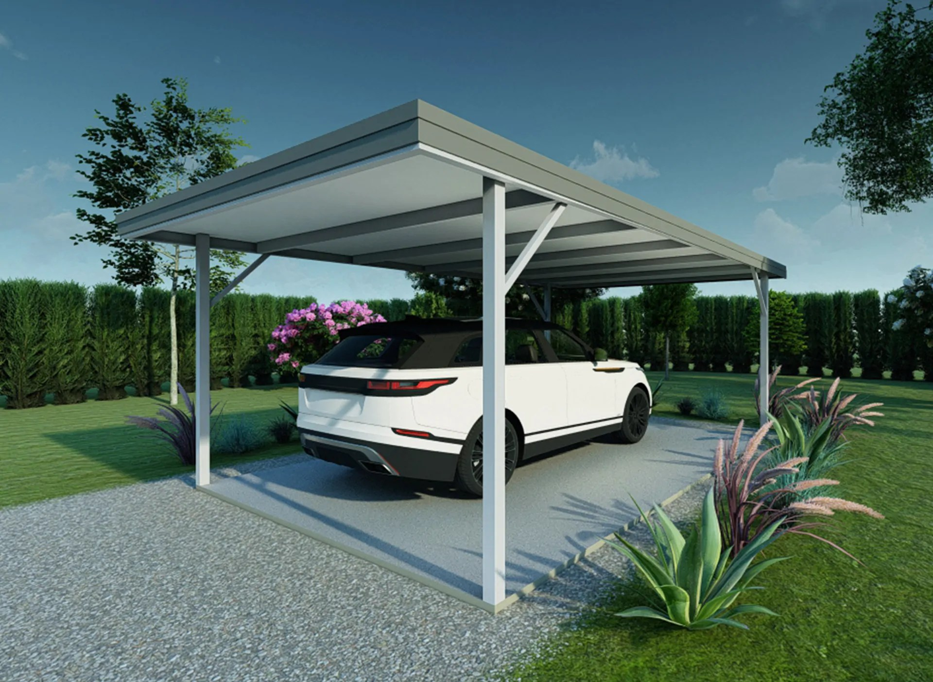 Karpot Quality Steel Carports Nz, Built To Protect Your Vehicle | Kiwispan