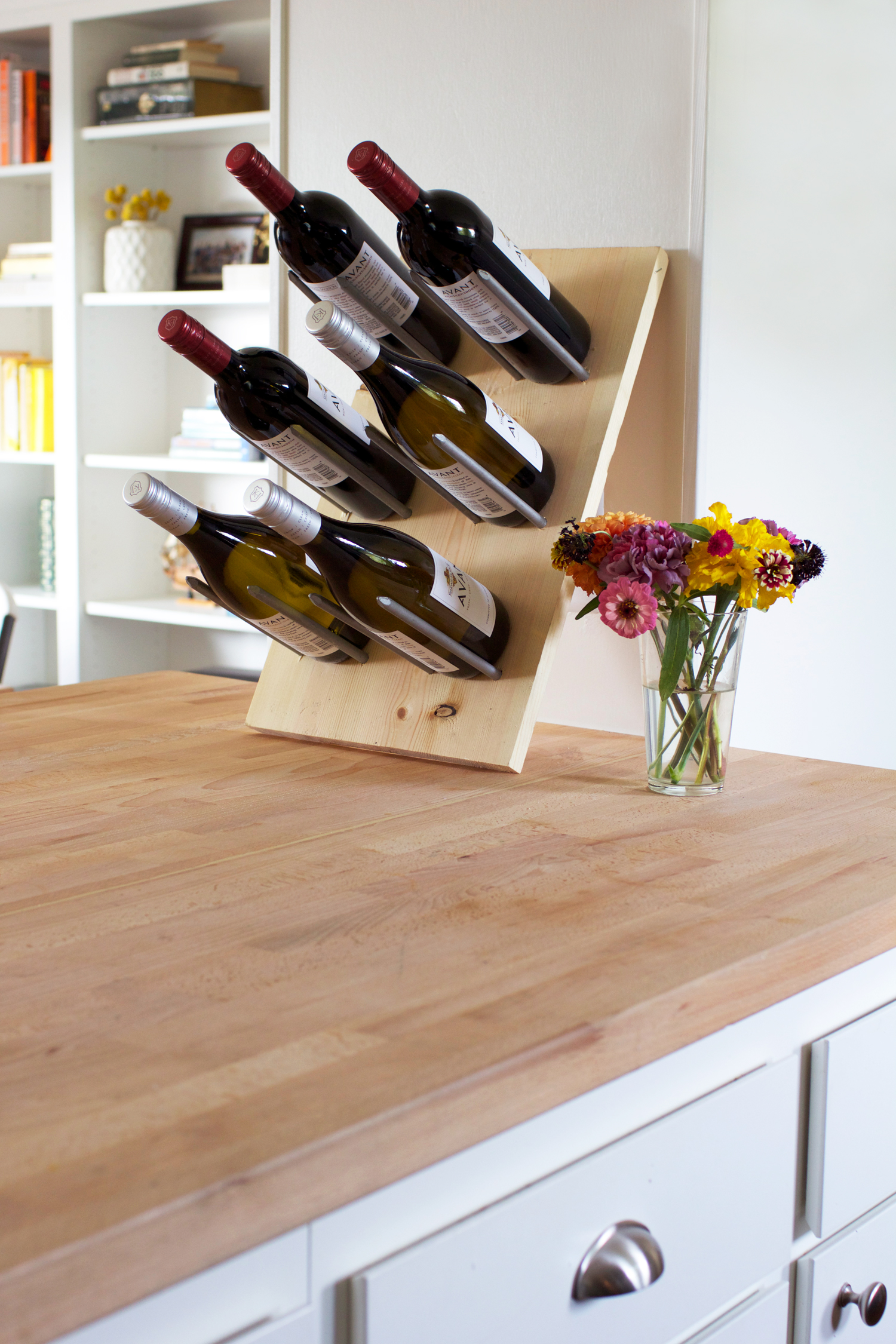 Diy Wine Storage Rack Diy Modern Wine Rack