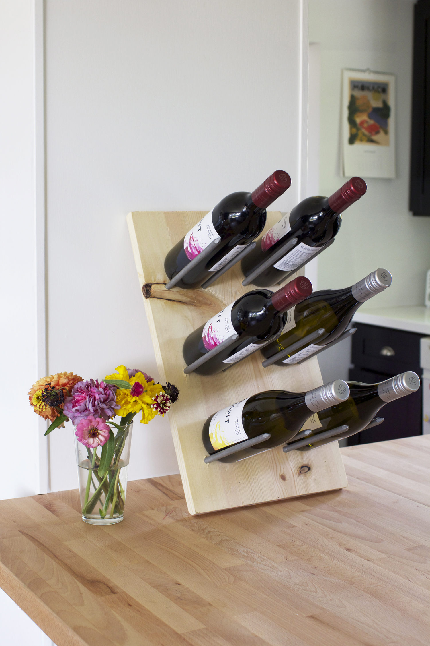 How To Make A Wine Rack Diy Modern Wine Rack