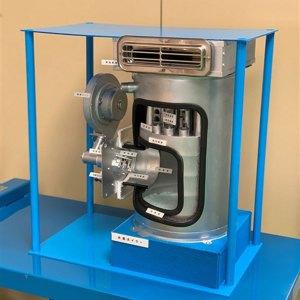 水素を燃料とした給湯器を開発