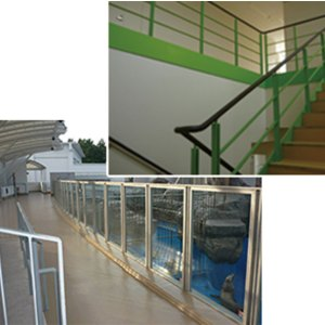 素材加工、金物販売・設置で建物を支える