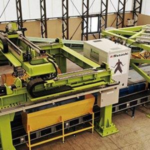 廃棄物の選別工程を自動化するAIロボット