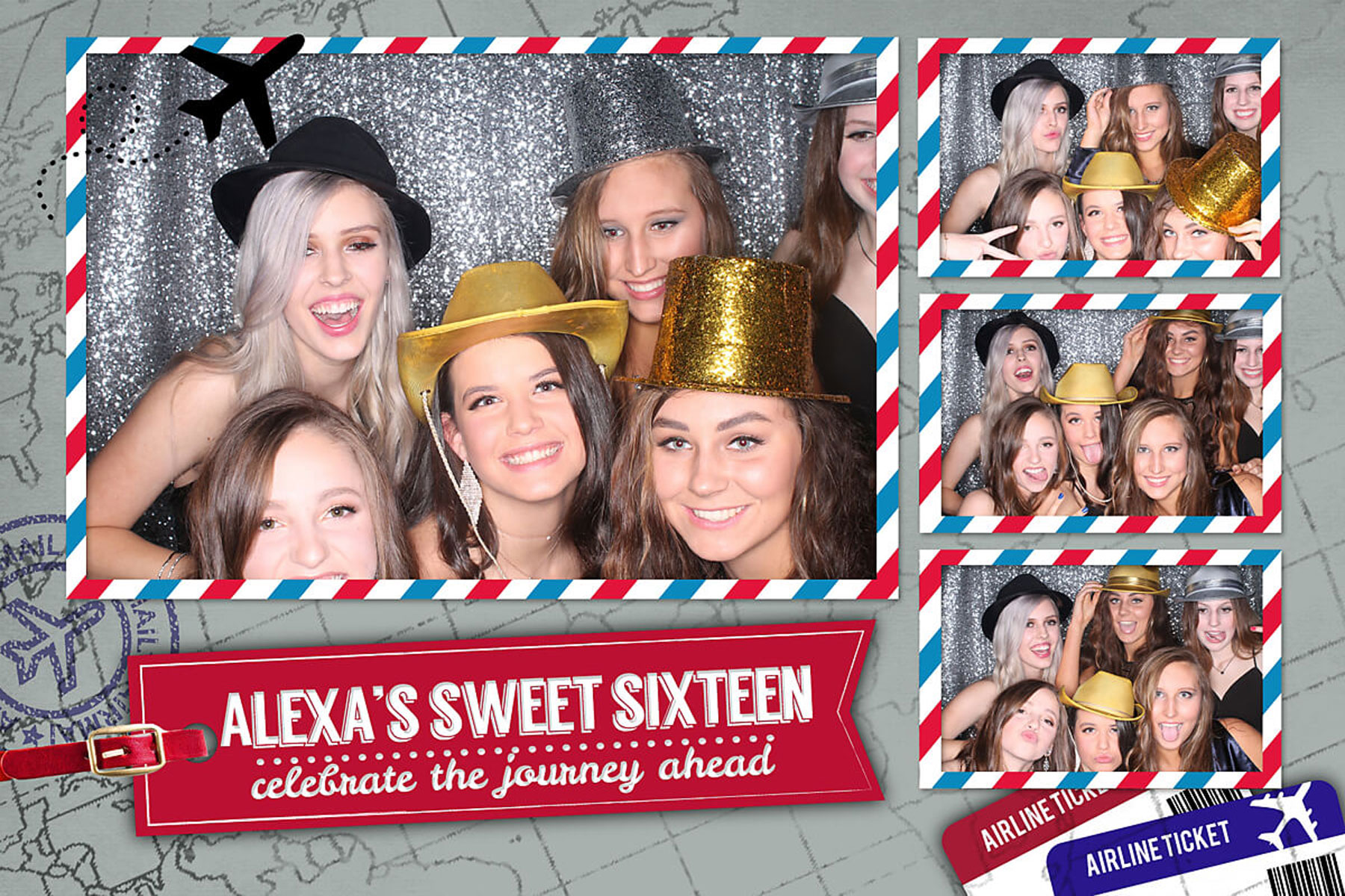 Magic Mirror Selfie Photo Booth Red Carpet Package