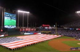 -WorldSeries_Game_1-_National_anthem_(22493324499)