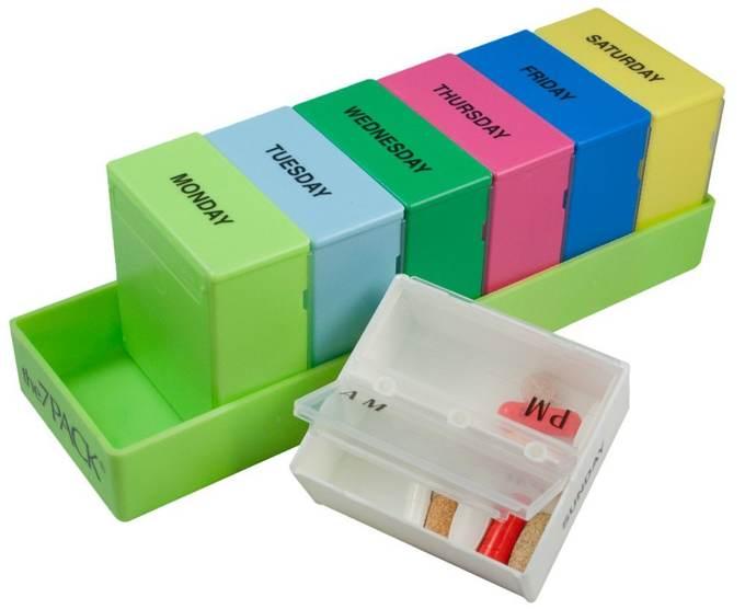 Pill Box Organizer Cool Tools