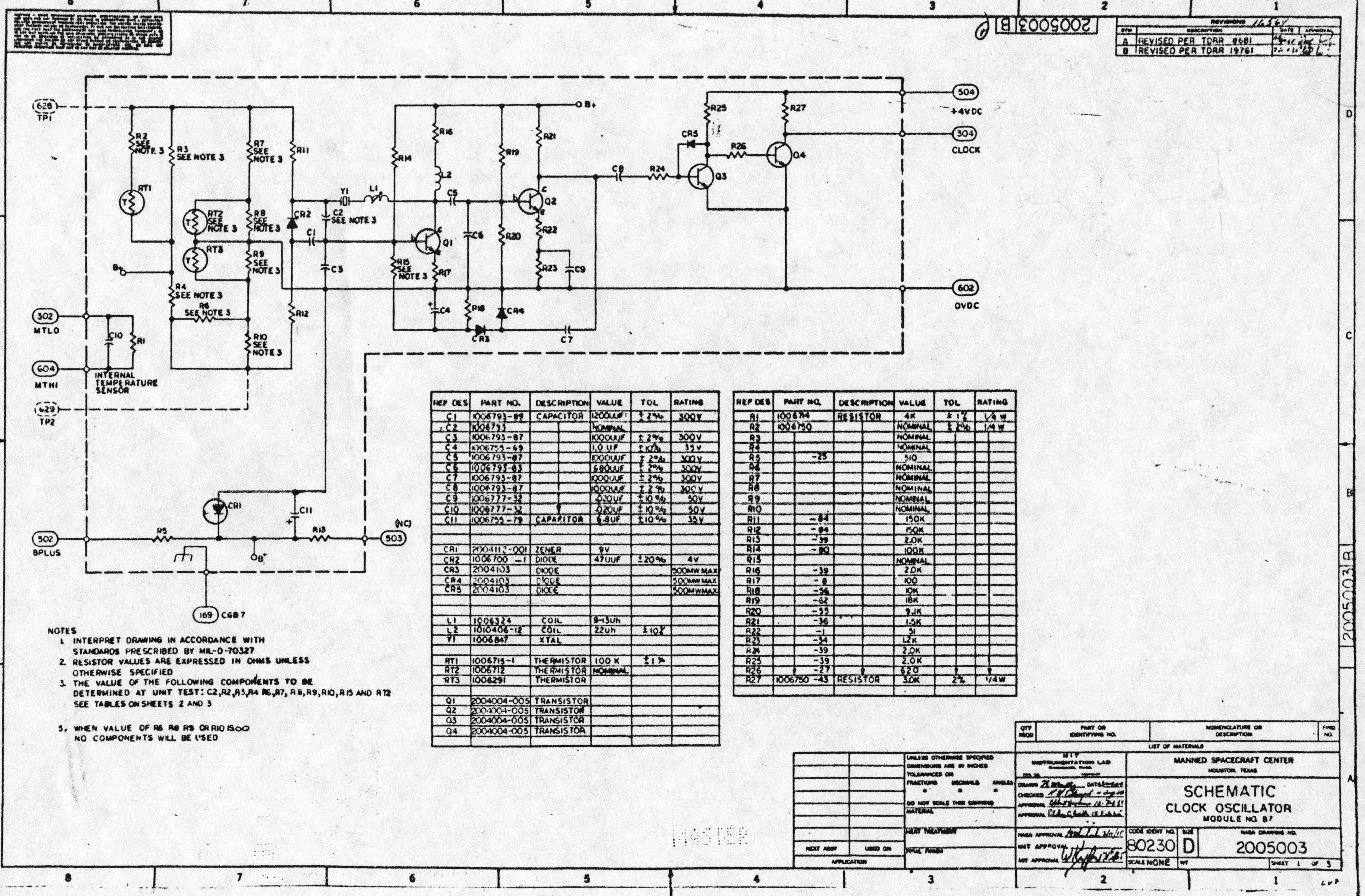 clock circuits schematics