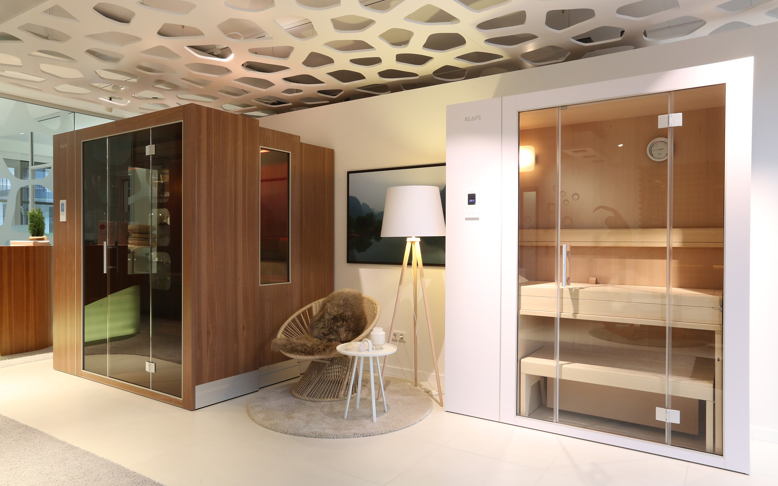 Klafs S1 Sauna Showroom In Frankfurt