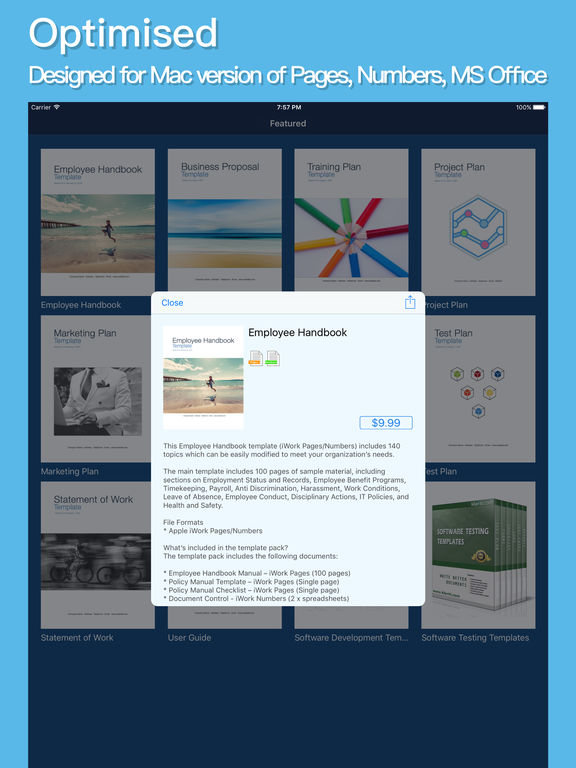 Get the Klariti Store Template app on the Apple iTunes Store - employee manual template