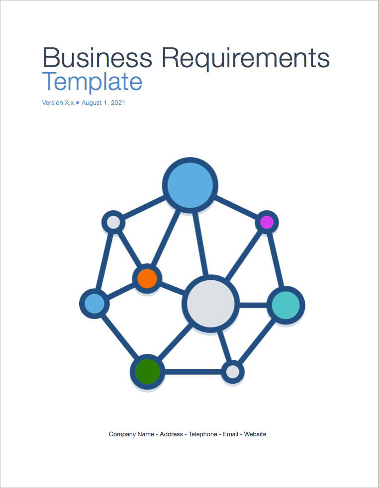 Business Requirements Template (Apple iWork Pages/Numbers - business requirement documents