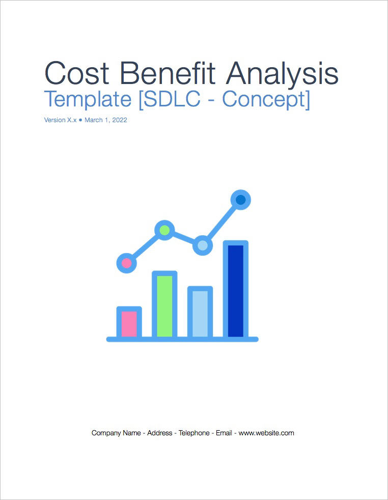 Cost Benefit Analysis Template (Apple iWork Pages)