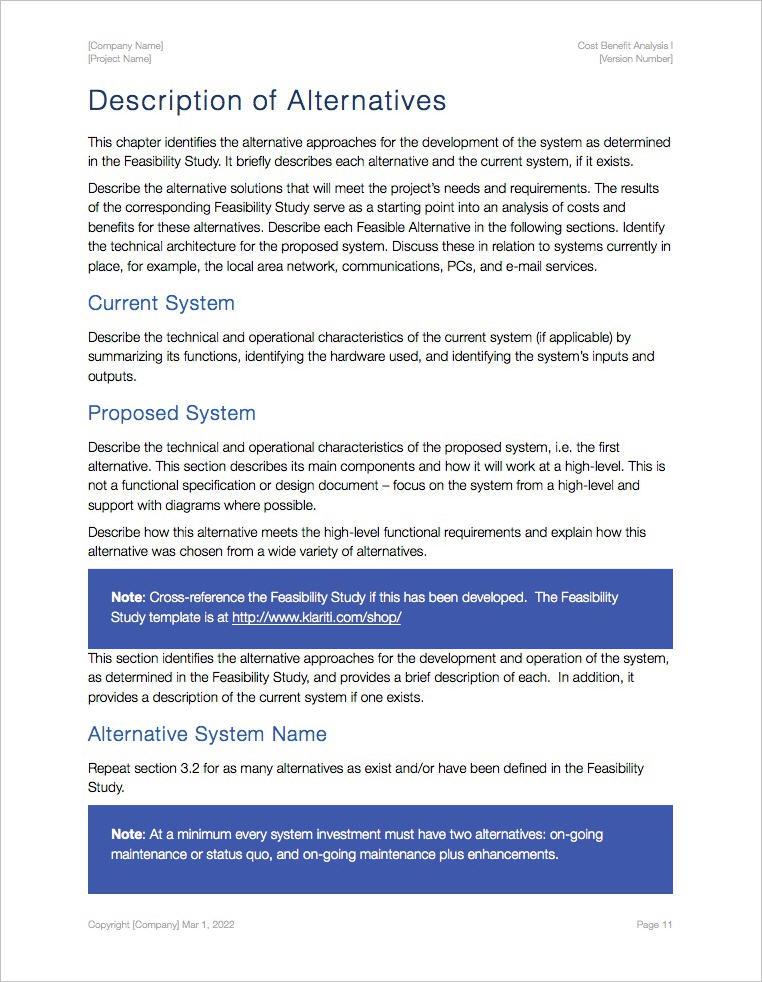 Cost Benefit Analysis Template (Apple iWork Pages) Templates - benefits analysis template
