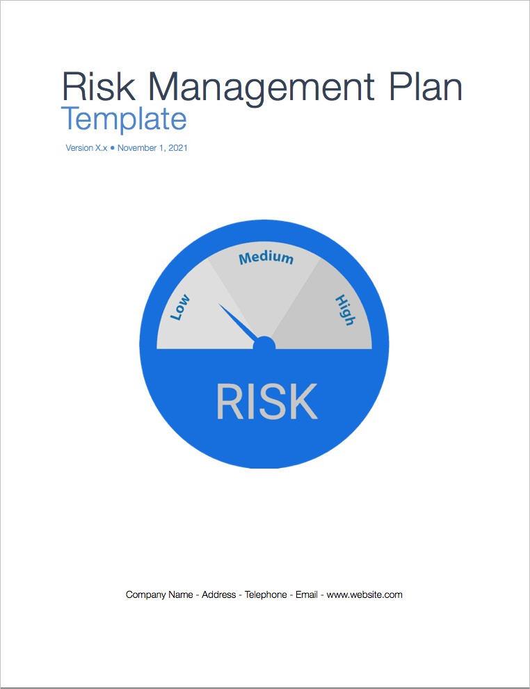 risk management plan  risk management planning