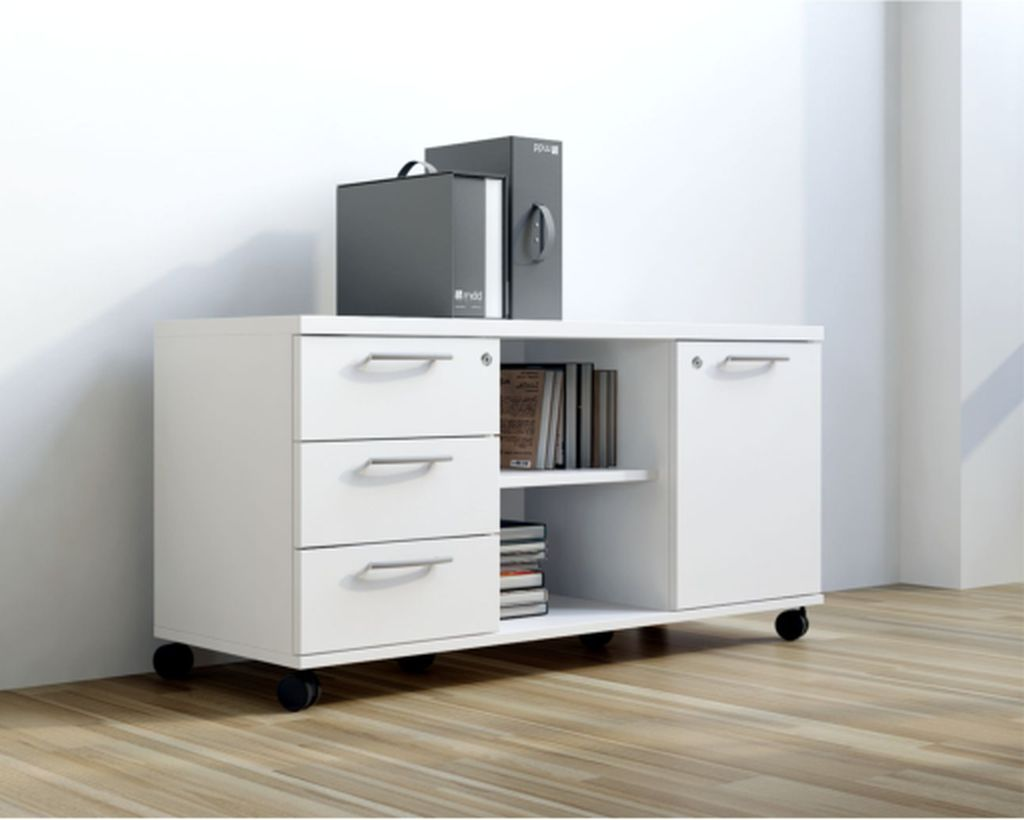 Sideboard Mit Rollen Sideboard Rollcontainer A120m