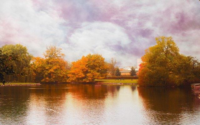 Den färgglada hösten