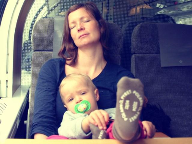 Dubbeldäckare upp till Göteborg