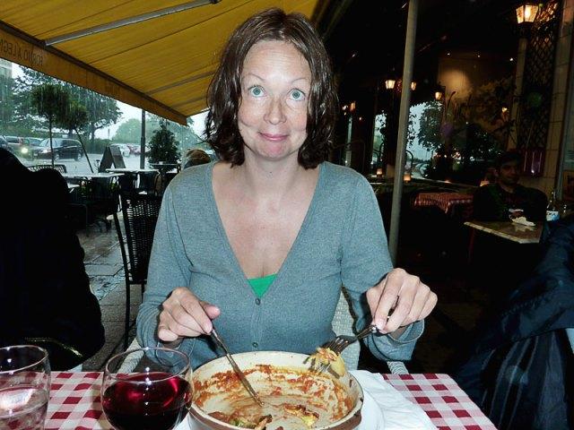 Familjen Blasiusson, hästar, pizza och monsunregn