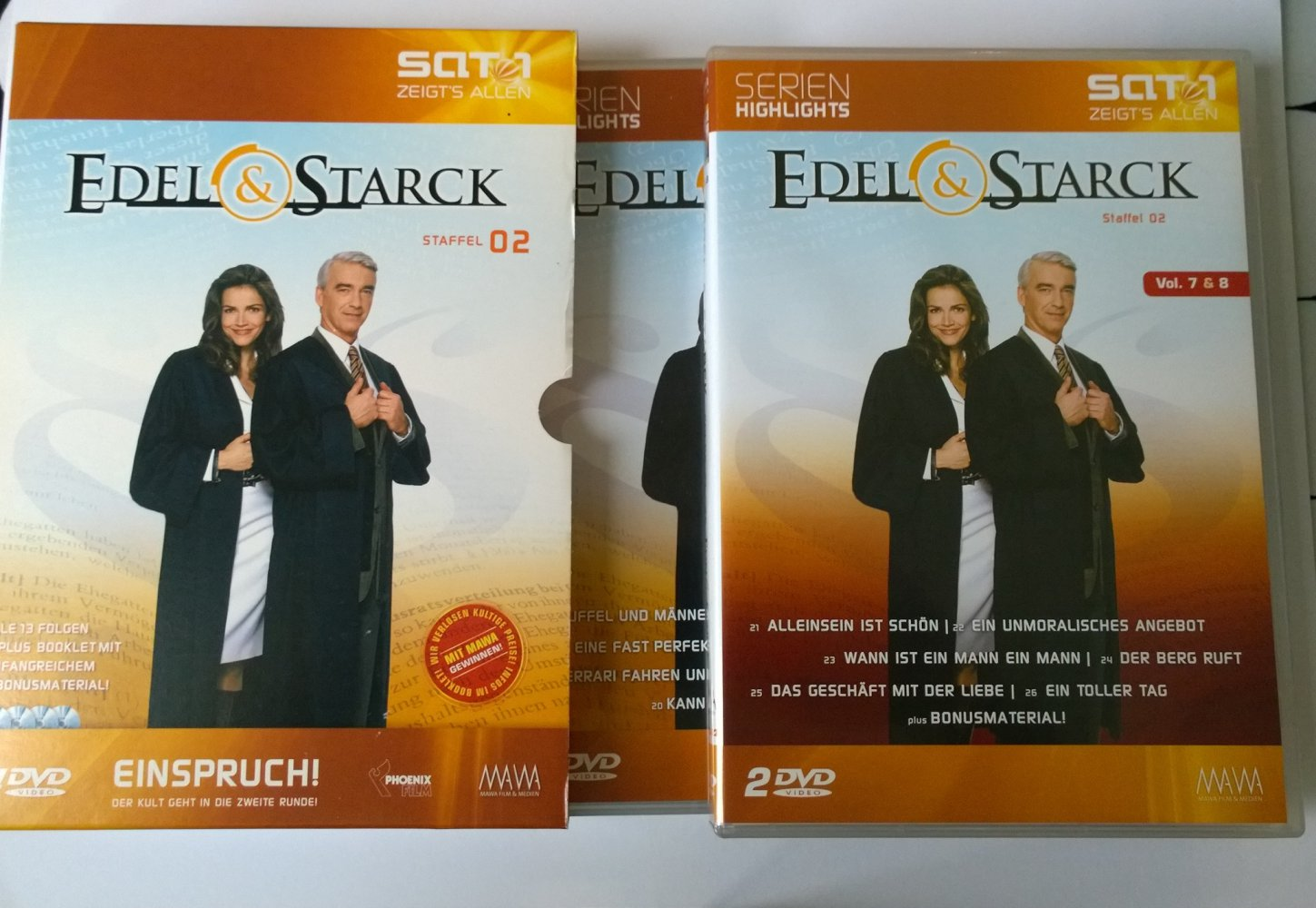 02 Box Edel Und Starck Staffel 02 Box Set 2 Dvd