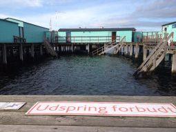 Verboden te duiken.
