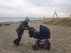 Onze BS op het strand