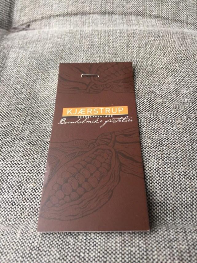Kjærstrup chocoladeglæde - Bornholmske fristelser (60 kronen)