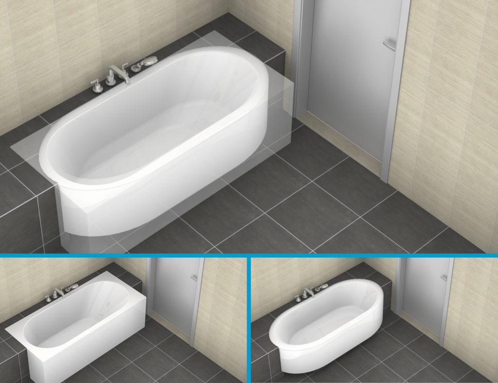 Badkamer Klein Bad : Klein bad voor badkamer badkamer ikea