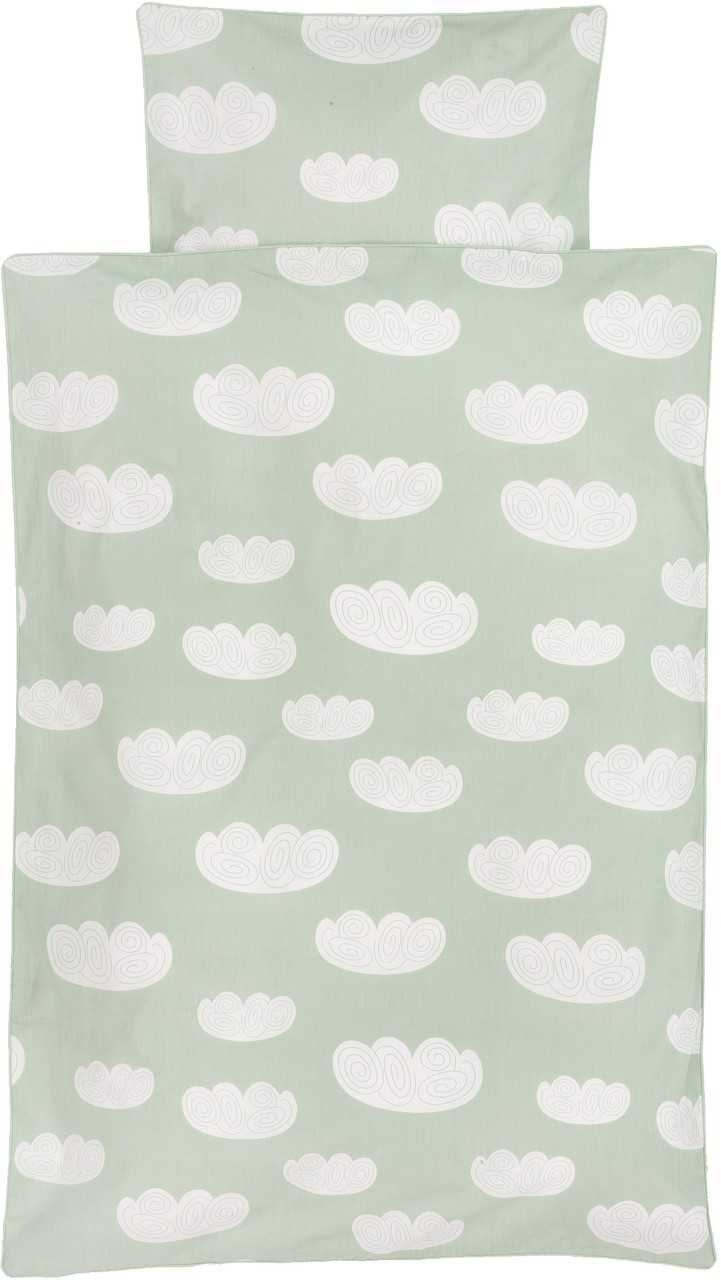 Kinderbettwäsche Mint Ferm Living Kinder Bettwäsche 100x140 Cm Cloud Mint