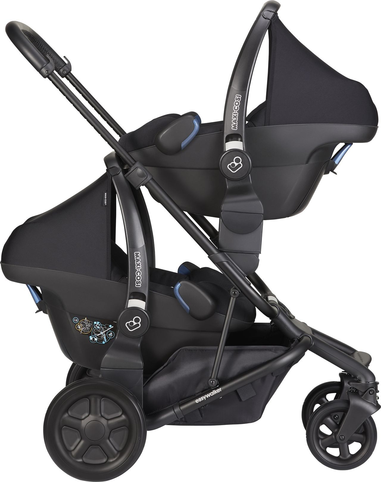 Kinderwagen Easywalker Duo Autositz Adapter Set Easywalker Harvey Kleine Fabriek
