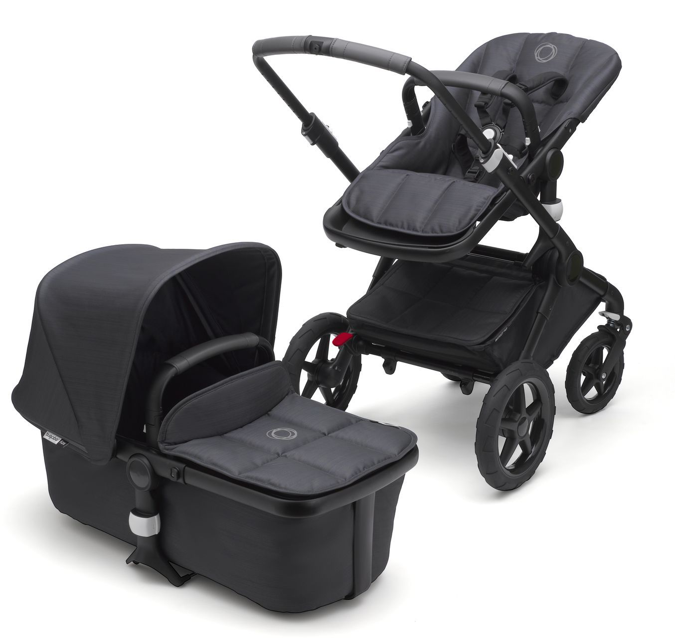 Joolz Hub Bugaboo Bee Bugaboo Fox Stellar Kinderwagen Set Komplett Midnight Blue
