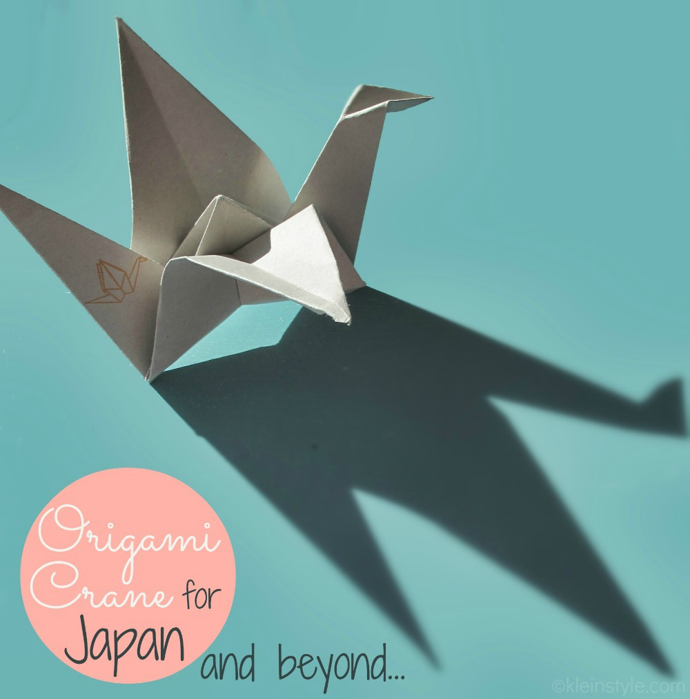 Fukushima Jahrestag : und noch mehr Origami Kraniche