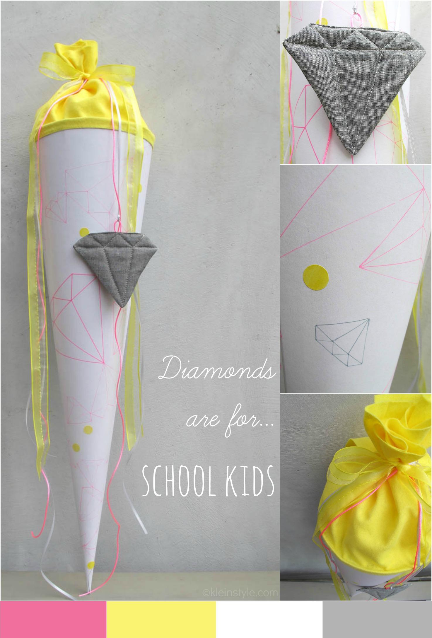 Schultüte : Diamonds are for… school kids!
