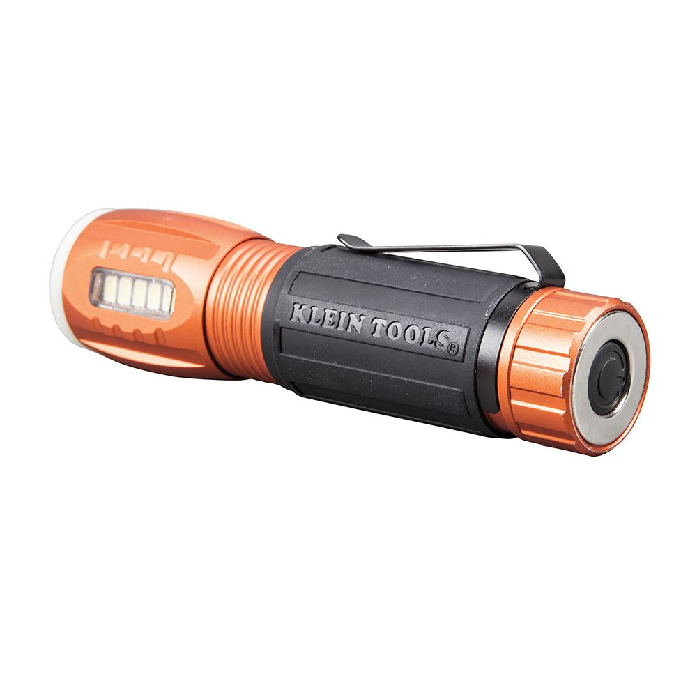 Flash Light Flashlight With Worklight 56028 Klein Tools For