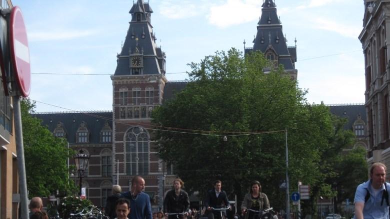 The Rijksmuseum in Amsterdam