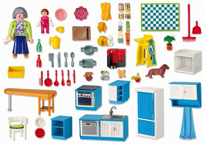 Playmobil Küche 5336 Playmobil Set: 5329 - Grand Kitchen - Klickypedia
