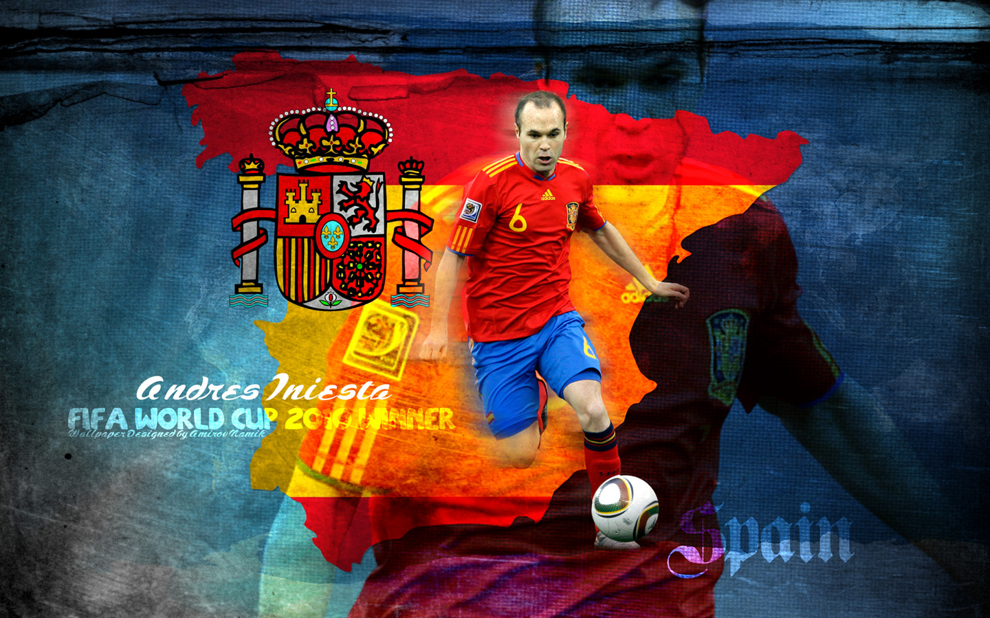 Stadion Piala Dunia Tops Wallpapers Bola net Download Wallpaper andres iniesta spain Dikirim oleh 1440x900