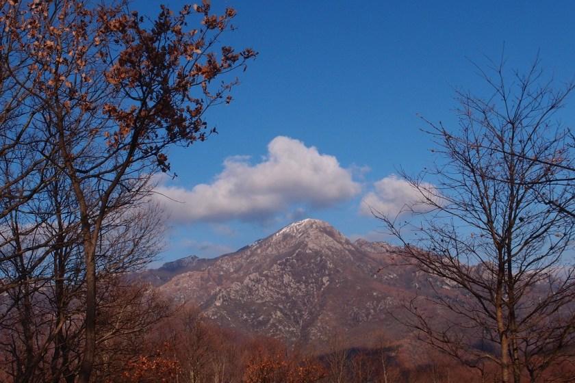 zasněžené vršky, Itálie
