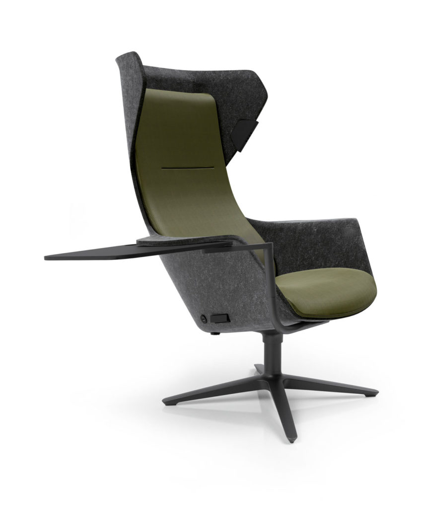 Sessel New Look Introducing Wooom The New Klöber Shell Chair Will Be Premiered At