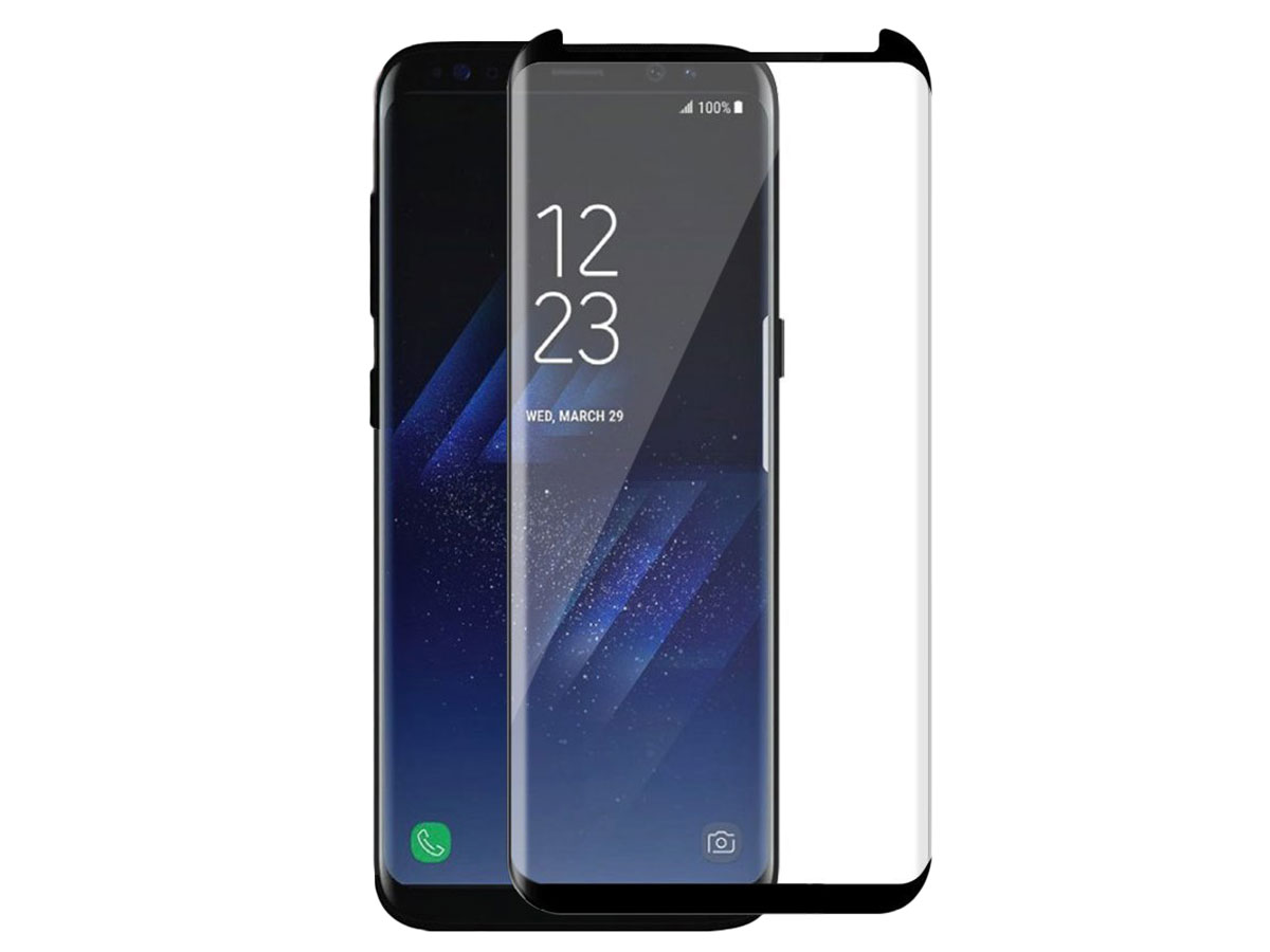 S8 Glas Samsung Galaxy S8 Curved Glass Protector Voor Hoesjes
