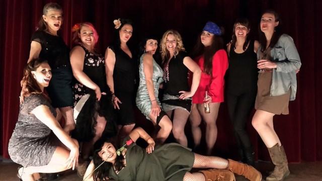 Boardwalk Burlesque photo by Janice Cliff