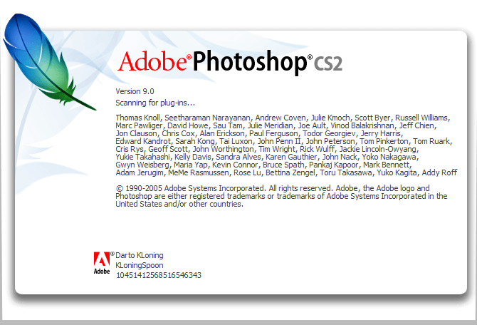 keygen photoshop cs2 paradox download