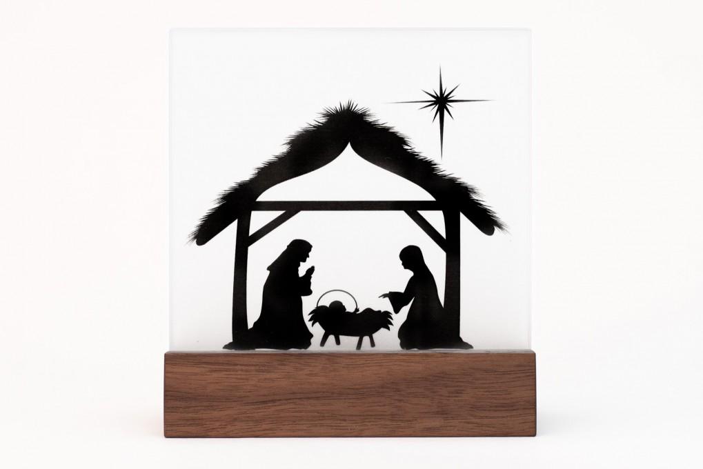 Krippe Weihnachten Klotzaufklotz Exzellente Holzprodukte