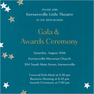 Gala and Awards Ceremony
