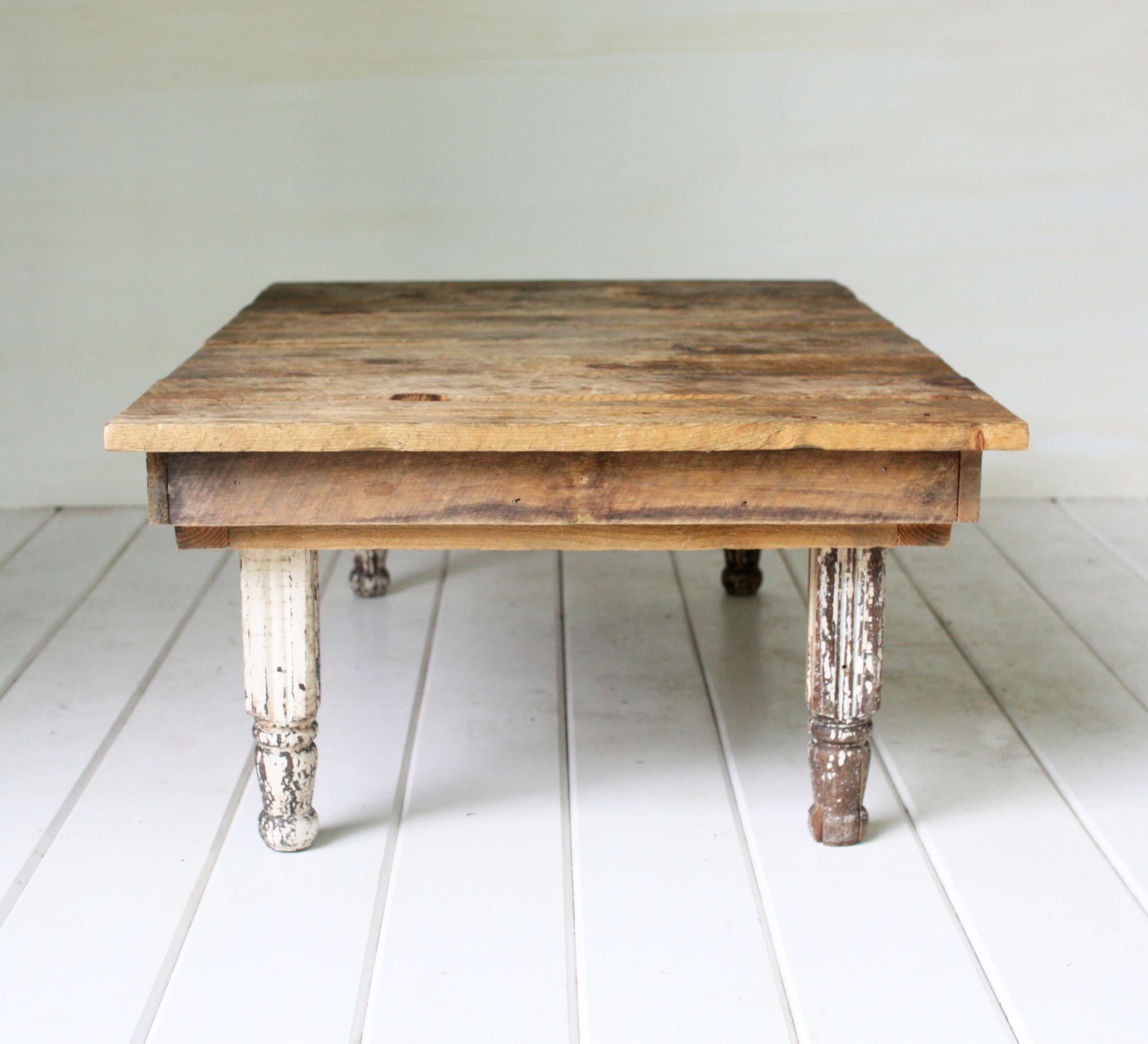 Farmhouse Table Company Rustic Coffee Table Vintage Rentals In Connecticut