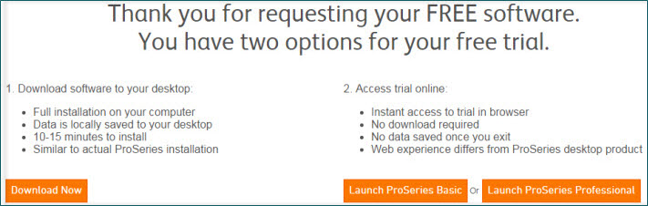 Requests for ProSeries Evaluation Software - Accountants Community