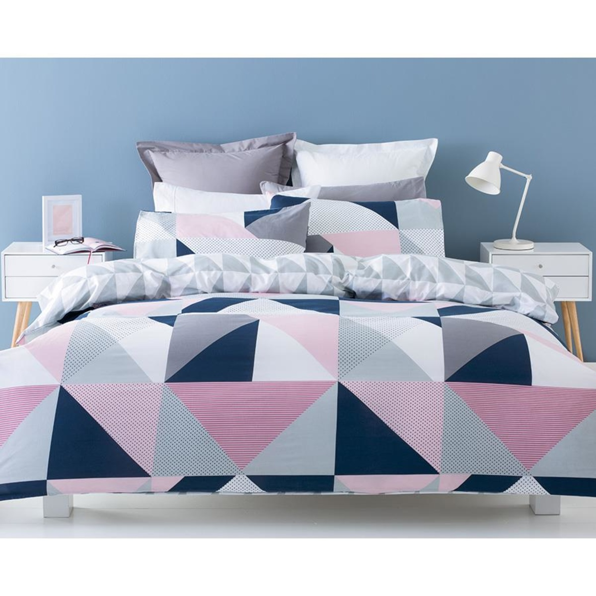 Double Doona Covers Jasper Quilt Cover Set Queen Bed Kmart
