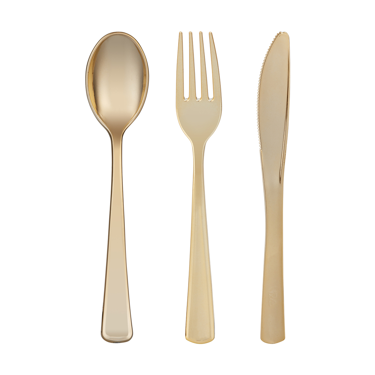 Gold Cutlery Sets 18 Pack Gold Look Cutlery Set Kmart