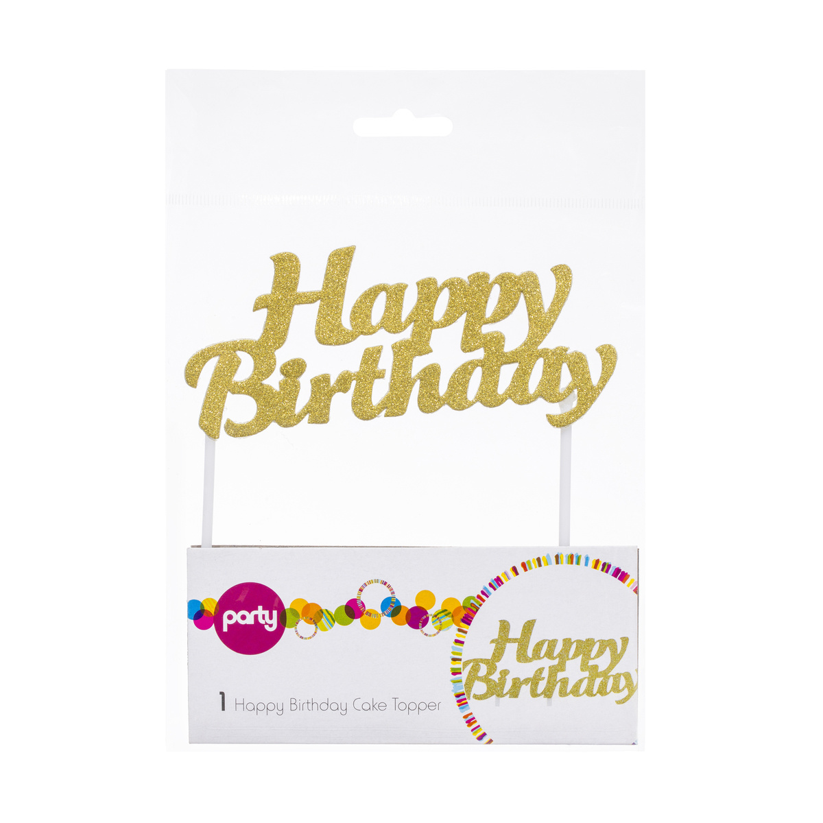 Cupcake Boxes Kmart Happy Birthday Cake Topper Kmart