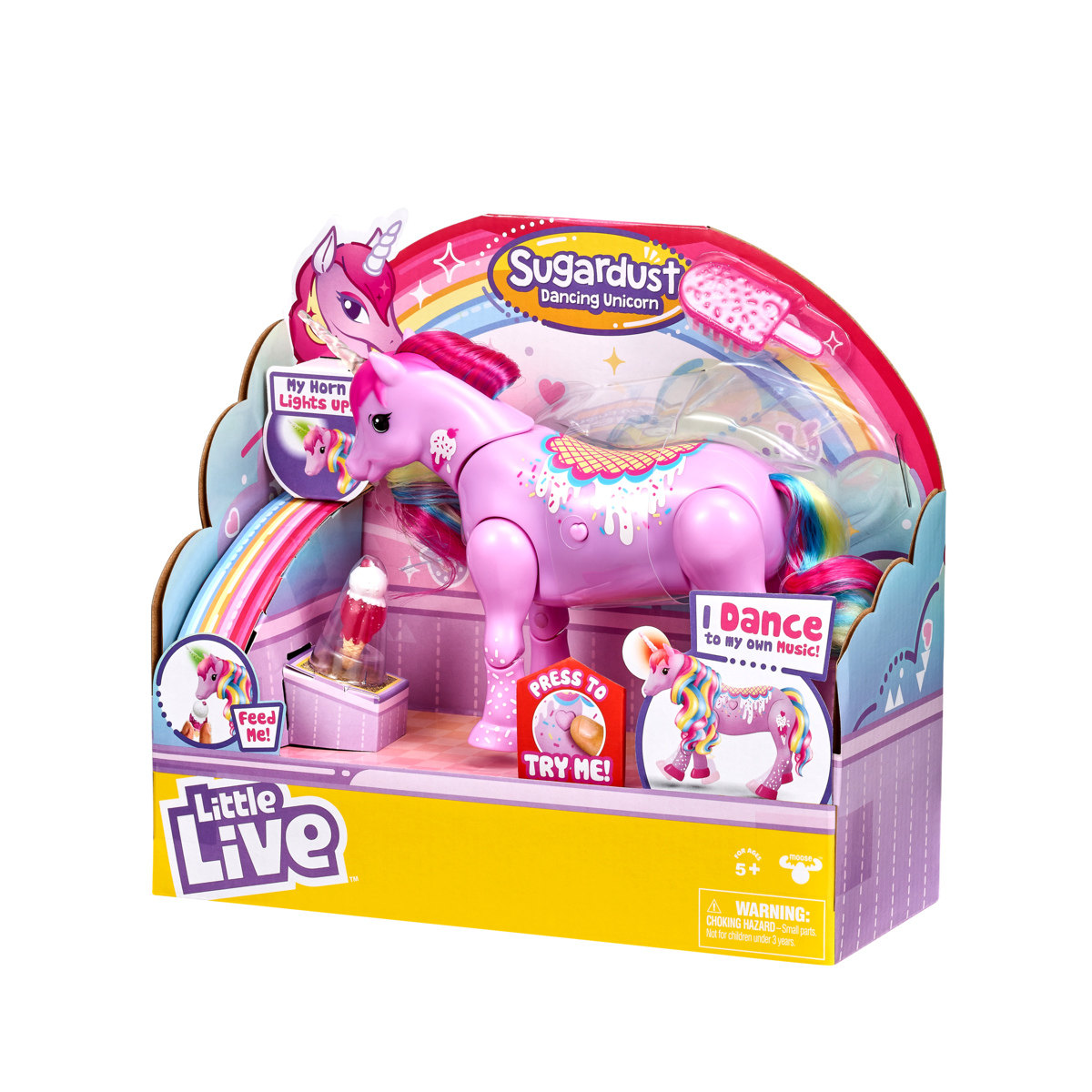 Cupcake Boxes Kmart Little Live Pets Sparkles My Dancing Unicorn Assorted
