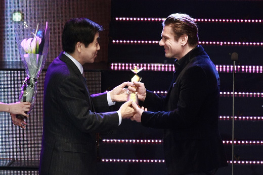 Miljenko Matijevic Received 2014 World Stars Award In Korea