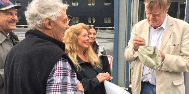 Garrison Keillor Visits Kodiak on Summer Alaska Cruise