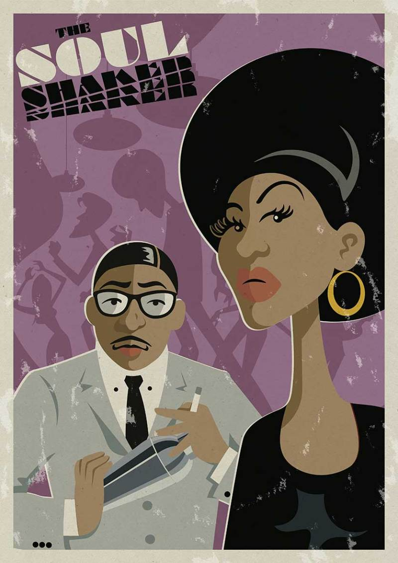 illustration-soul-funk-poster